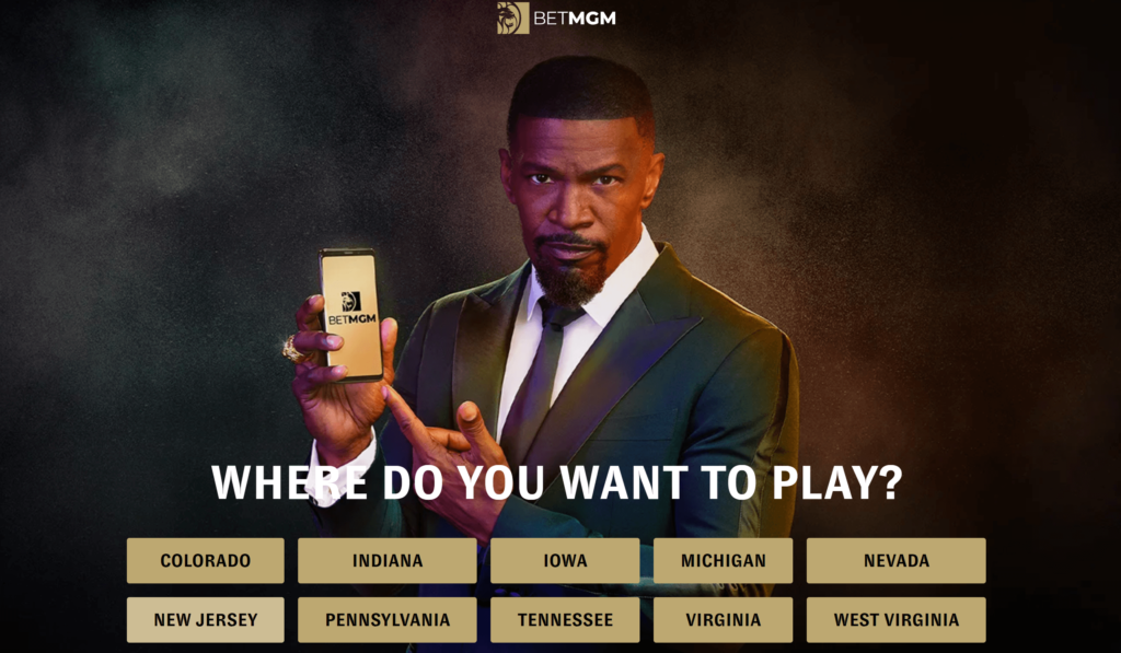 Download the online sportsbook app and play in your state